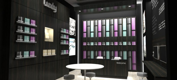 Luxly Flagship Store in Singapore - Lighiting ambiance