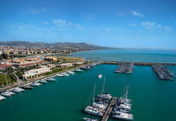 Collaboration & partnerschip whit Strada Architects Marina Cala del Sole Licata - Sicily
