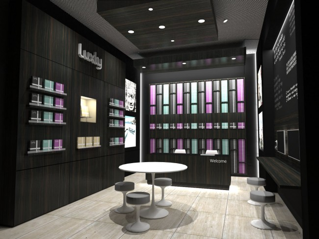 Luxly Flagship Store in Singapore - Concept Design by Arch+ Studio
